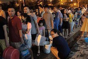 Công ty nước sạch Sông Đà xin lỗi người dân về sự cố ô nhiễm nguồn nước