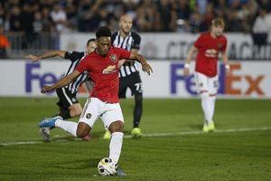 Quỷ đỏ nhọc nhằn vượt qua Partizan bằng bàn thắng của Martial