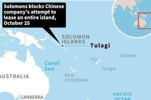 Solomon ngăn Tập đoàn Trung Quốc thuê cả hòn đảo