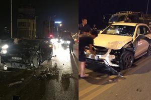 Hà Nội: Kinh hoàng, 3 xe tông nhau liên hoàn trên cầu Vĩnh Tuy lúc nửa đêm