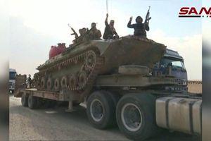 Quân đội Syria rầm rập kéo vũ khí, hỗ trợ người Kurd ngăn Thổ Nhĩ Kỳ tấn công