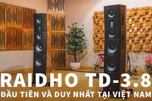 Lộ diện siêu loa Raidho TD-3.8 trang bị driver kim cương Tantalum 200mm, giá 2.7 tỷ đồng