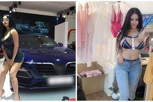 Trước khi cố tình lộ hàng ở Vietnam Motor Show 2019, Võ Huỳnh Ngọc Phụng chuyên ăn mặc kiểu 'con nhà nghèo'