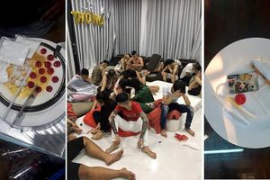 Đột nhập villa, phát hiện 17 thanh niên xăm trổ cùng 7 hot girl xinh đẹp mở tiệc 'bay lắc'