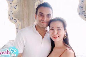 Võ Hạ Trâm khoe ảnh hạnh phúc bên chồng trong chuyến du lịch Ấn Độ