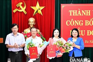 Nhân sự mới ở Đà Nẵng, An Giang, Thái Bình