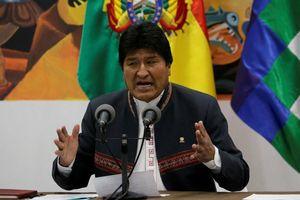 Bầu cử Bolivia: Tổng thống Evo Morales tái đắc cử ngay vòng 1
