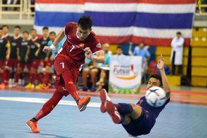 Tuyển Việt Nam thua Thái Lan, lỡ cơ hội đá chung kết AFF HD Bank Futsal Championship
