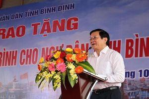 Bình Định: Trao tặng thiết bị giám sát hành trình cho ngư dân