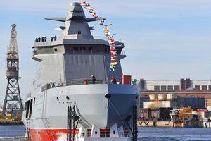 Nga hạ thủy tàu chiến mới, quyết bảo vệ lợi ích tại Bắc Cực