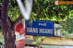 Điều bất ngờ ít người biết về tên gọi phố Hàng Ngang
