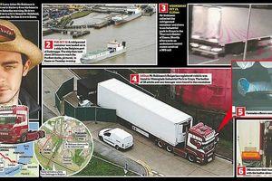 Hành trình 'tử thần' của chiếc xe tải mang theo 39 thi thể người nhập cư vào Anh