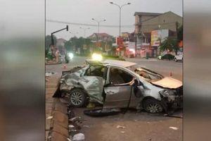 Tai nạn giao thông nghiêm trọng tại Nghệ An, 4 người thương vong