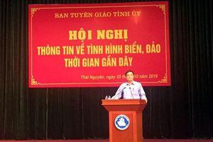 Thái Nguyên tổ chức hội nghị tuyên truyền biển, đảo cho sinh viên