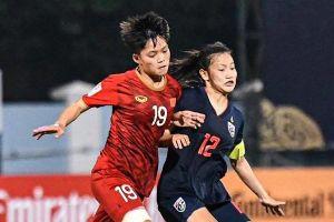 Việt Nam thắng chủ nhà Thái Lan tại vòng chung kết U19 nữ châu Á