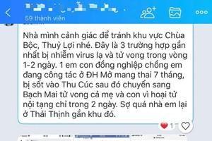 Thực hư thông tin virus 'viêm cơ tim' gây tử vong hàng loạt khiến người dân Hà Nội hoang mang