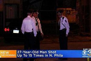 Nam thanh niên bị bắn 16 phát đạn tự đi bộ 3km tới bệnh viện