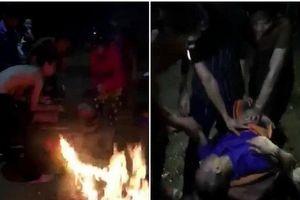 Dân làng đốt rơm rạ sưởi ấm, cứu sống nam thanh niên bị đuối nước trong đêm tối