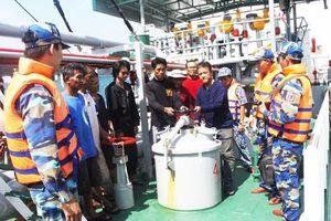Chặn bắt 350.000 lít dầu DO đang sang mạn trái phép