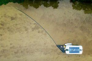 Thiết bị thu gom rác trên sông của Hà Lan được triển khai ở Việt Nam