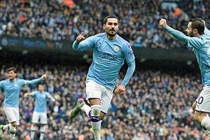 Man City 3-0 Aston Villa: Áp sát ngôi đầu
