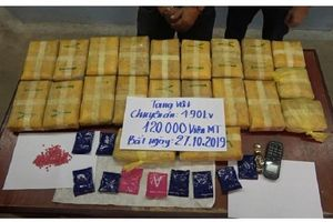 Ngăn chặn 120.000 viên ma túy từ Lào vào Việt Nam