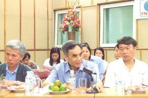 Nhà báo Trần Thiên Nhiên - 'thương hiệu' của chương trình Thời sự