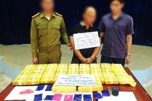 Ngăn chặn vụ vận chuyển 120.000 viên ma túy từ Lào sang Việt Nam