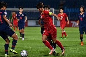 VCK U19 nữ châu Á 2019: Việt Nam thắng Thái Lan ngay trên sân khách