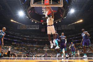 NBA 19-20: Los Angeles Lakers vượt qua Charlotte Hornets bằng sức mạnh của cả tập thể ở nửa sau của trận đấu