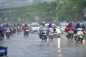 Các khu vực trong cả nước có mưa dông