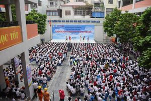 EVN Hà Nội tuyên truyền sử dụng điện an toàn cho học sinh tiểu học