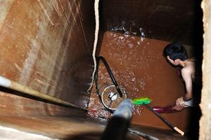 Thau rửa bể nước ngầm: Tiềm ẩn nhiều rủi ro