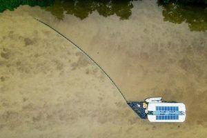 Sẽ triển khai thiết bị đặc biệt gom rác trên sông của Hà Lan tại Việt Nam