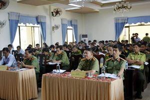 Xử lý 60 vụ phạm pháp hình sự vùng giáp ranh Quảng Nam- Quảng Ngãi