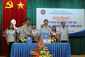 Hải quan Thanh Hóa ký kết đối tác với doanh nghiệp