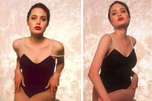 Bộ ảnh áo tắm năm 16 tuổi của Angelina Jolie gây sốt