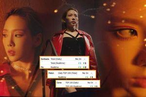 'Choáng' với loạt thành tích 'Spark' của Taeyeon (SNSD): Đạt All-Kill BXH Hàn, lọt top 5 iTunes Mỹ và còn nhiều hơn nữa