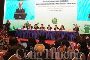 Khai mạc Diễn đàn Liên Chính phủ về giao thông vận tải bền vững môi trường khu vực Châu Á lần thứ 12