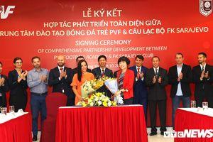 Cầu thủ PVF sáng cửa sang châu Âu thi đấu cho đội bóng của chủ tịch người Việt