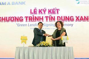 Ngân hàng đẩy mạnh tín dụng xanh để phát triển bền vững