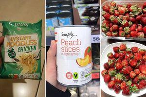 Người Việt định cư và du học sinh tiết lộ những món 'rẻ giật mình' bán ở siêu thị nước ngoài, có nơi mì gói giá 4 nghìn như Việt Nam