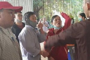 Công an làm việc ba người trong vụ xô xát ở Tịnh thất Bồng Lai