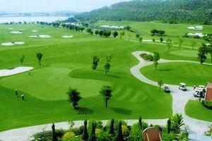 Sân golf cạnh nguồn nước sông Đà: 'Mới đang nghiên cứu'