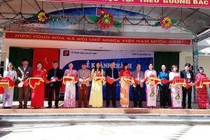 Khánh thành Trường PTDT bán trú Tiểu học xã Lũng Cú