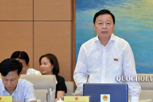 Bộ trưởng Trần Hồng Hà đề nghị giảm đại biểu Quốc hội thuộc cơ quan hành pháp