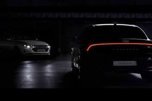 Hyundai 'nhá hàng' Grandeur 2020 với thiết kế đầy sang chảnh