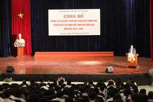 184 học sinh Hà Nội tham dự kì thi chọn học sinh giỏi quốc gia