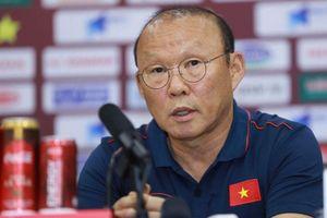 HLV Park Hang Seo lo lắng về cơ hội đoạt HCV SEA Games 30