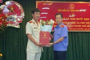 Thư ký của ông Lê Minh Trí làm Phó Viện trưởng Viện KSND TPHCM